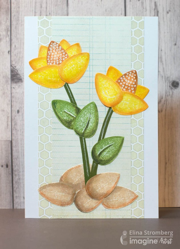 Learn How To Make A Paper Flower Spring Card