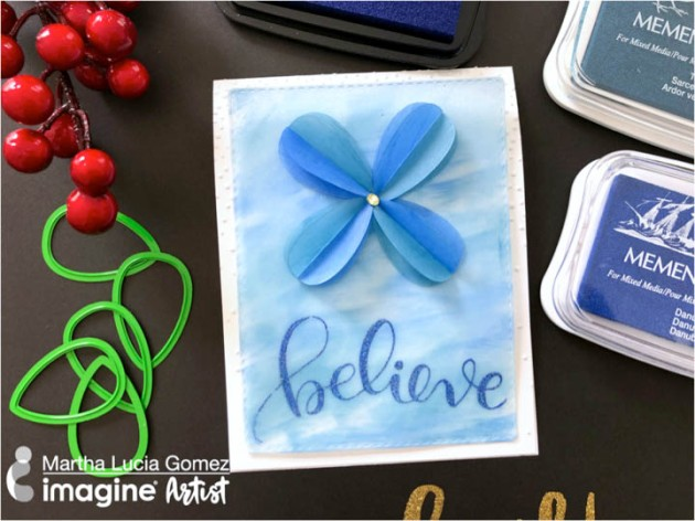 Learn How to Make a Card with Dewlets and Vellum