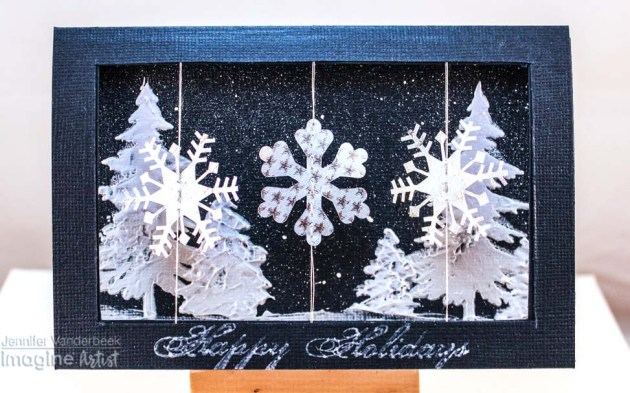 See How to Create a Snowflake Spinner Card
