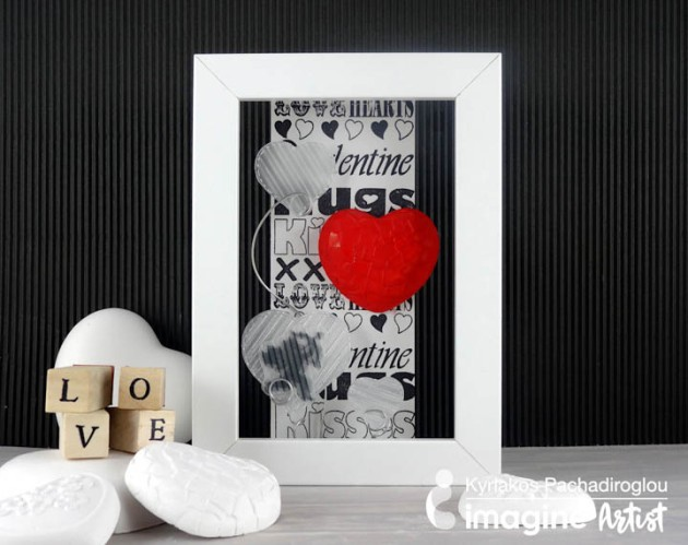 See How to Make a Layers of Hearts for Valentines