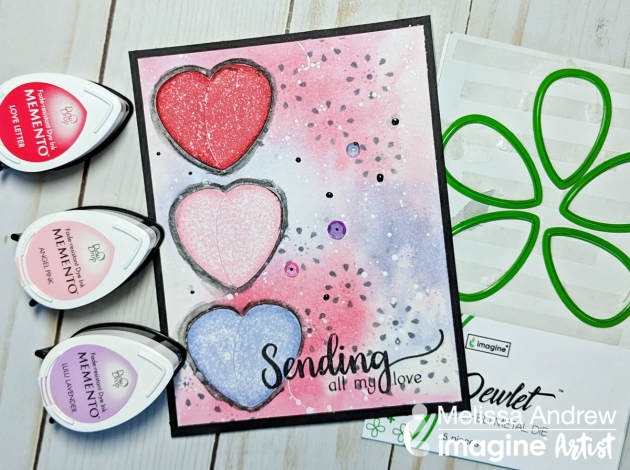 Make a Valentine's Card Using New Dewlets