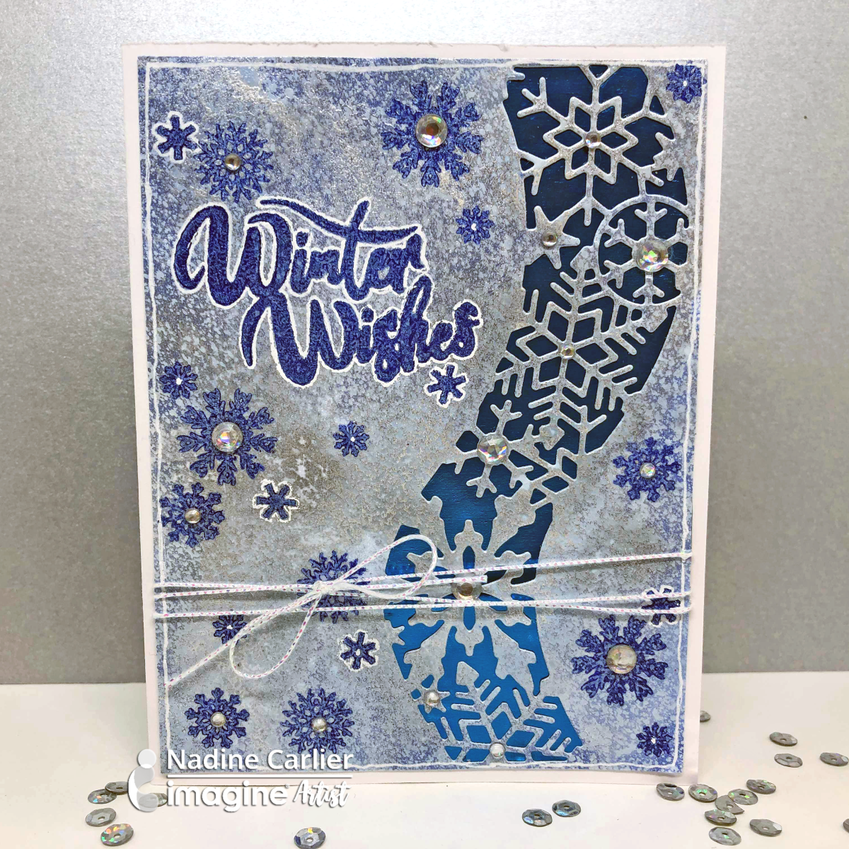 How To Create A Shimmery Winter Background