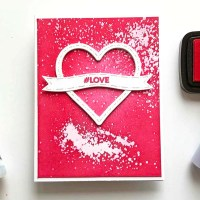 Create a Valentines with Emboss Resist Using Goosebumps Spray
