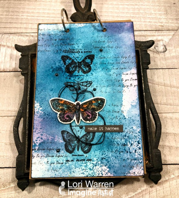 Make It Happen with this Beautiful Art Journal Design
