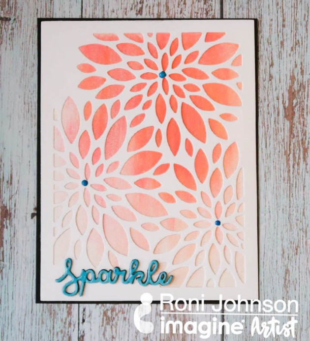 Learn How to Blend Ink using Shimmer Stix