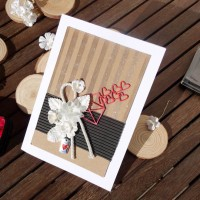 "Create a Shimmery ""Sending You Love"" Card"