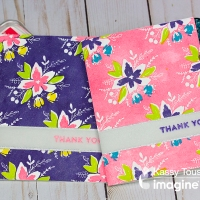 Learn to Make a Set of Matching Thank You Cards