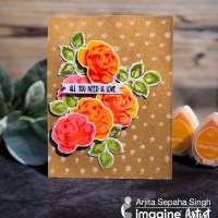 Learn How To Create A Layered Rose Stamp With Stazon Pigment