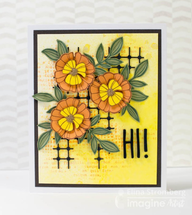 Learn How To Make A Hello Spring Card