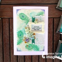Create A Beautiful Peacock Feather Handmade Card