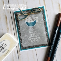 Use the New StazOn Pigment Ink on Vellum