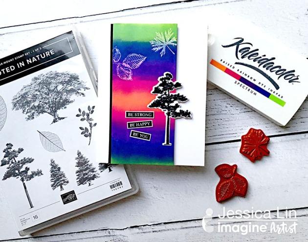 Learn 1 Minute 1 Inkpad EASY Blending with Kaleidacolor