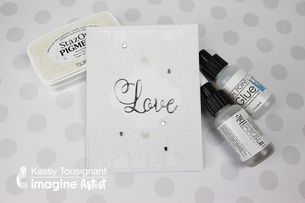 Quick & Easy Wedding Invitation Tutorial using Shimmer and Vellum Cardstock