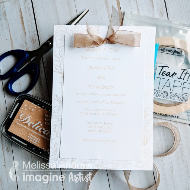 Learn to Make DIY Wedding Invites with Delicata