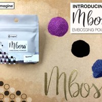 Introducing Mboss Embossing Powder