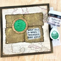 "Create A ""Not All Who Wander Are Lost"" Greeting Card"