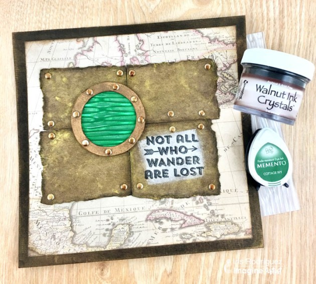 Create A Not All Who Wander Are Lost Greeting Card