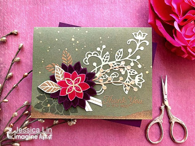 3 Techniques using the VersaMark Ink Pad with Mboss Embossing Powder