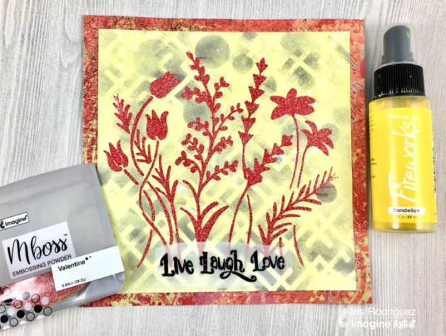Create A Live Laugh And Love Greeting Card
