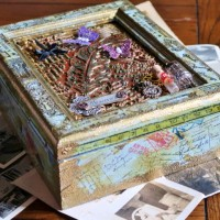 Learn How To Use Creative Medium To Upcycle A Wooden Box
