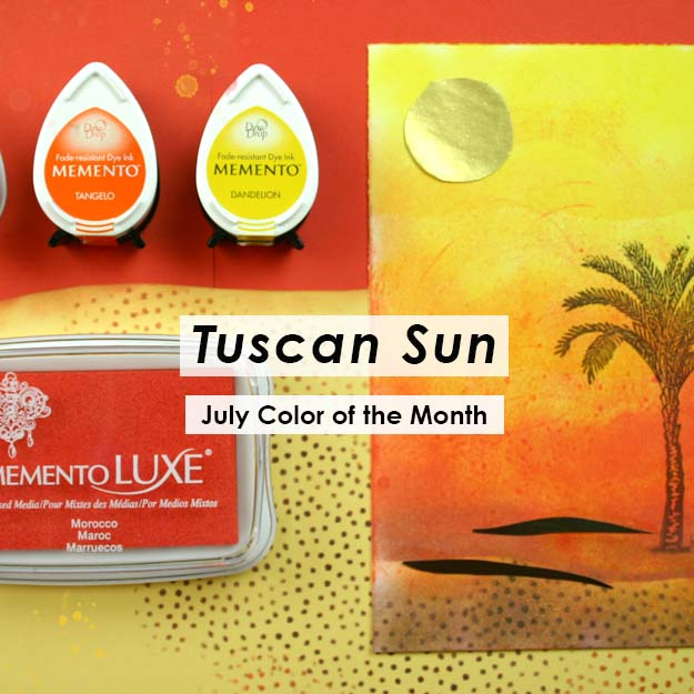Color of the Month is Tuscan Sun