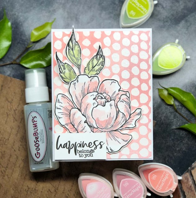 Create Chic Background Pattern on a Card with Goosebumps