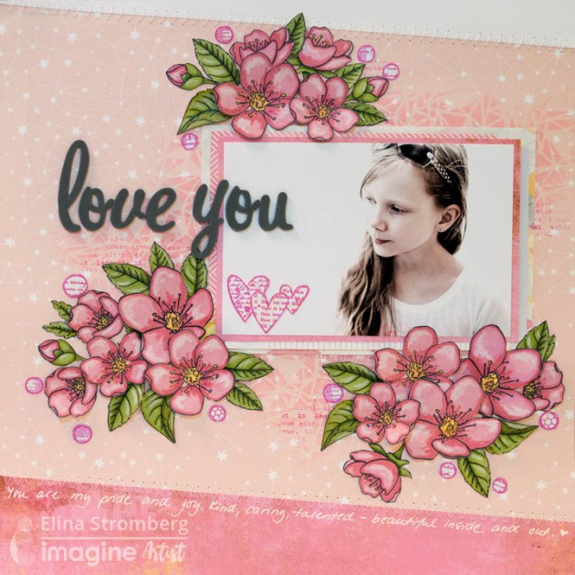See How To Make 3d Flowers For A Scrapbook Layout