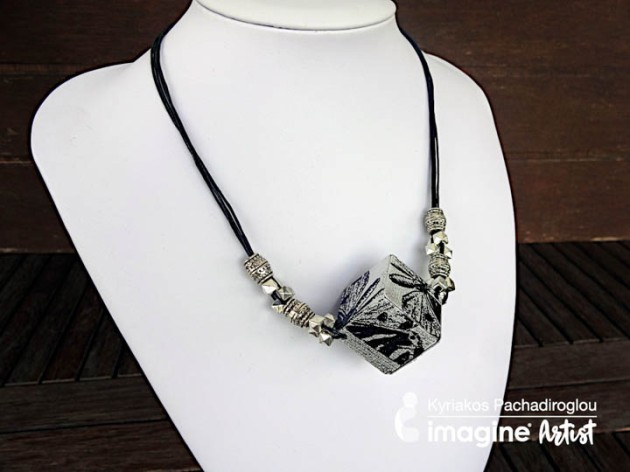 Learn How To Make A 3D Cube Jewelry Element Using Stazon Pigment