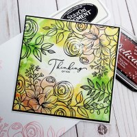 Learn How to Make a Watercolor Thinking of You Card with Pigment Ink