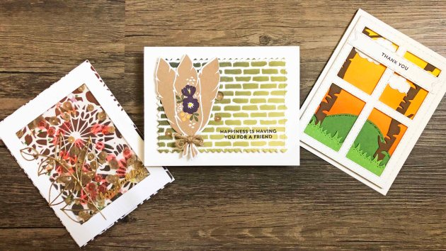 Learn How to Create Beautiful Card Designs with an Ombre Blending Style