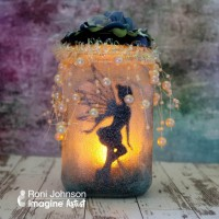 Learn How to Upcycle an Old Jar into a Mystical Fairy Lantern