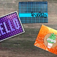 Learn 3 Different Ways to Stencil on Rinea Foil