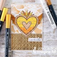 Make your Cards Shine with Rinea Foil and Sheer Shimmer