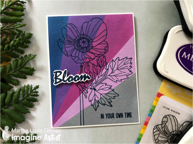 See How to Use Blending and Embossing to Create a Beautiful Card