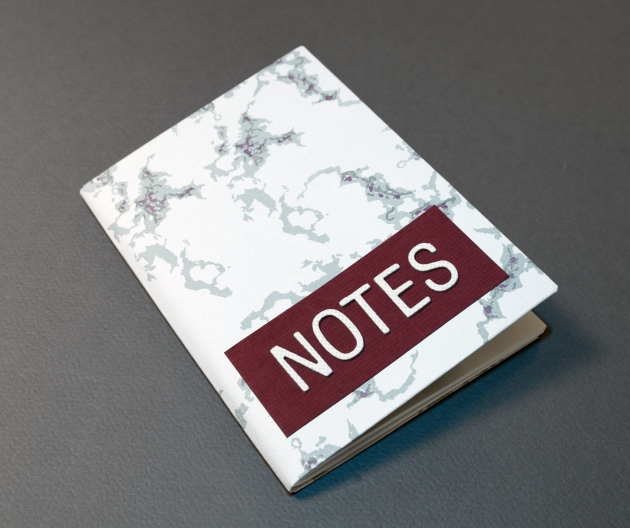 See How to Create this Marbelous Notebook