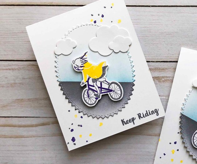 Learn How to Use Layered Stamps with Heat Embossing