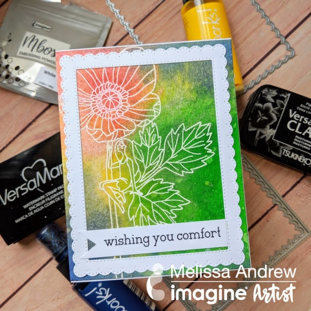 See How White Embossing Powder Creates a Gorgeous Card Design