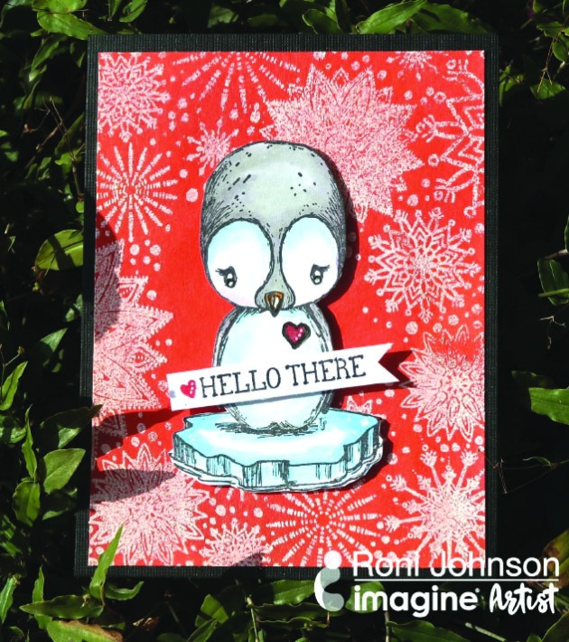 Learn How to Create a Cute Penguin Greeting Card