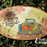 Learn How to Color and Stamp on Fabric for a Harvest Fall Theme