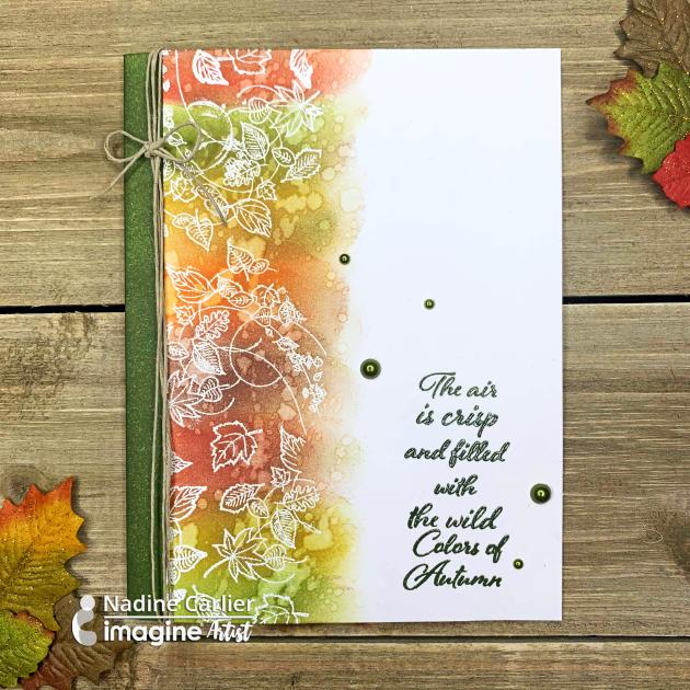 Autumn Card by Nadine Carlier ic