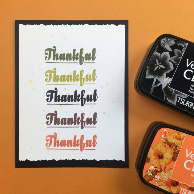 Beginner Guide: Make a Thanksgiving Card