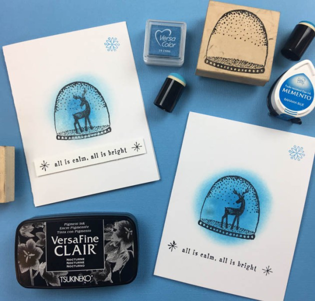 Beginner Guide: Make a Snow Globe Holiday Card