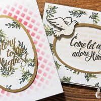 Come Let Us Adore Him Christmas Card