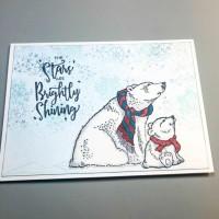 VersaMagic and VersaFile Clair Create a Polar Bear Card