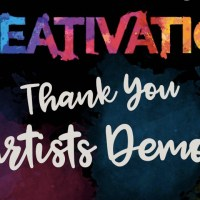 Thank You to the Artists at Creativation 2020