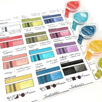 Creating Ink Swatches for Easy Color Matching