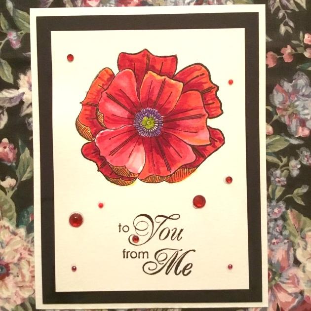 kazuko kocho - Valentines day card to you from me