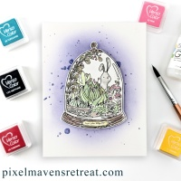 Make a Spring Terrarium Card with VersaColor