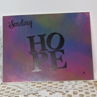 Quick & Easy Projects: Sending Hope Greeting Card