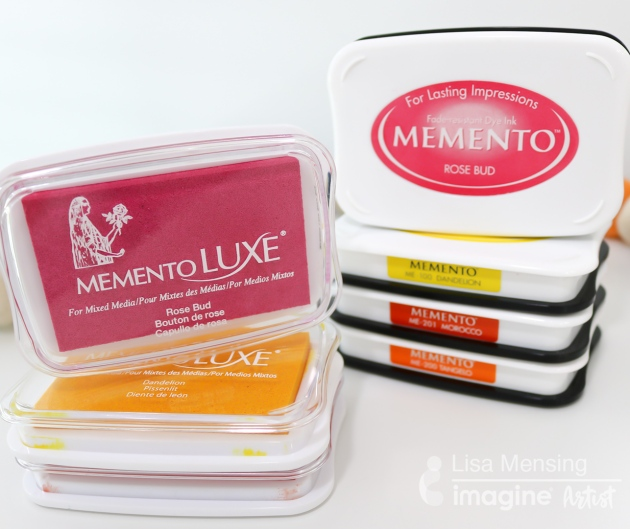 Beginner Guide: Memento Dye verses Memento Luxe Pigment Ink
